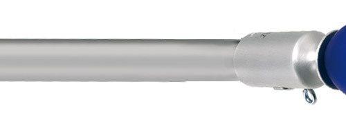 76 Diva 25 alluminio satinato verniciato lucido VB vetro di murano blu