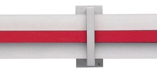 81 Irina alluminio satinato opaco RO rosso